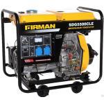 Дизельный генератор Firman SDG 5500 CLE