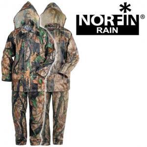 Костюм демисезонный Norfin RAIN CAMO GREEN