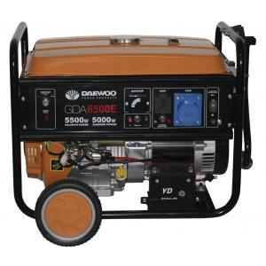 Бензиновый генератор Daewoo GDA 6500E