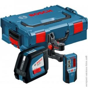 Лазерный нивелир Bosch GLL 2.50 + BM1+ LR2 в L-Boxx