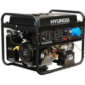Бензиновый генератор Hyundai HHY 9000FE ATS + колёса + счётчик моточасов