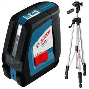 Линейный лазерный нивелир Bosch GLL 2-50 + BS 150 + вкладка под L-Boxx