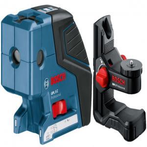 Точечный лазер Bosch GPL 5 C + BM1