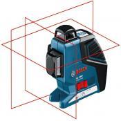 Линейный лазерный нивелир Bosch GLL 3-80 P + вкладка под L-Boxx