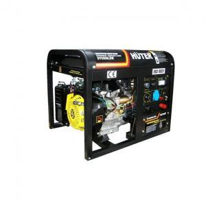 Бензиновый генератор Huter DY 6500LXW с функцией сварки