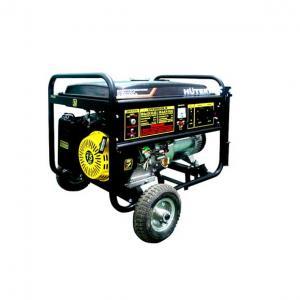 Бензиновый генератор Huter DY 8000LX с колесами