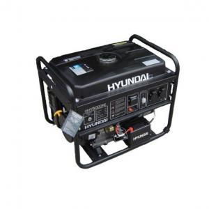 Бензиновый генератор Hyundai HHY 5000FE + счётчик моточасов