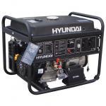 Бензиновый генератор Hyundai HHY 7000FE + колёса + счётчик моточасов