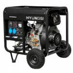 Дизельный генератор Hyundai DHY 8000LE + колёса
