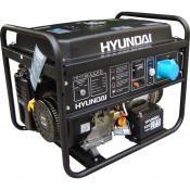 Бензиновый генератор Hyundai HHY 9000FE + колёса + счётчик моточасов