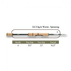 Спиннинг G.Loomis GLX 853S JWR