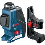 Линейный лазерный нивелир Bosch GLL 2-80 P + BM1