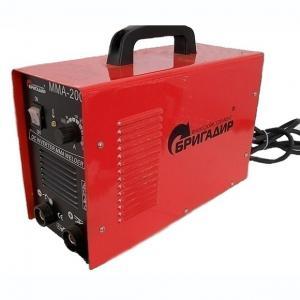Сварочный инвертор Бригадир Professional ММА-200С