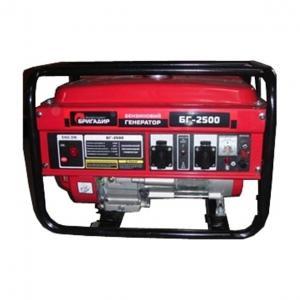 Бензиновый генератор Бригадир БГ 2500
