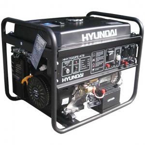 Бензиновый генератор Hyundai HHY 7000FE ATS + колёса + счётчик моточасов