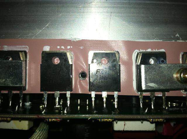 MOSFET транзисторы сварочного полуавтомата Shyuan MIG 280