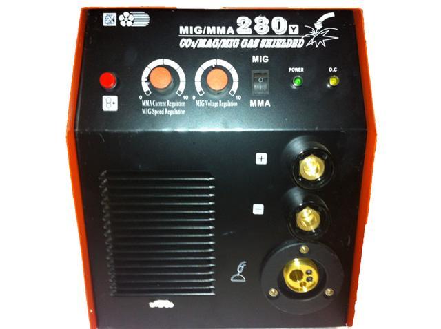 Передняя панель управления сварочного полуавтомата Shyuan MIG 280